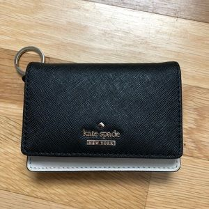 Kate Spade Black and Cream wallet